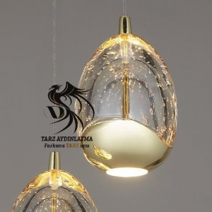 tarz_aydinlatma_cam_led_droplet_avize_resim1