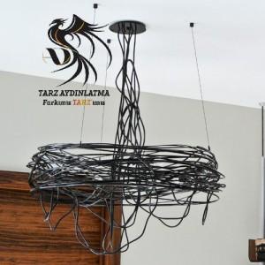tarz_aydinlatma_nest_spiral_tel_kafes_yuva_avize_sarkit_lamba_resim2